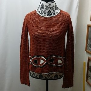 Volcom cropped sweater
